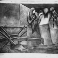The idle land : detail of a mural by Jose Clemente…