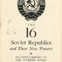 16 Soviet Republics and Their New Powers
