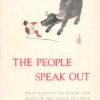 People speak out: translations of poems and songs of…