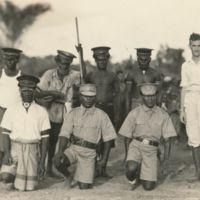 Puruata - meeting between Australian patrol officer and…