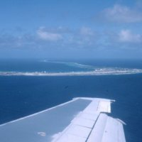 Aerial View of Atoll