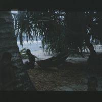 Photo of David's canoe.