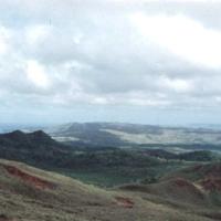 Looking Northeast from Lamlam. Guam. Jan. 1950