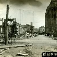 Main St. Yokohama. New Telephone Bldc.