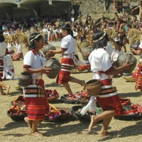 Harvest Festival, Tadian, Mountain Province 1