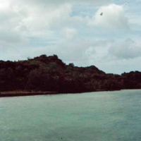 View from ramp.  Koror [Palau]. 23 Dec. 1949