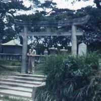 Forsberg at shrine near Highway 13