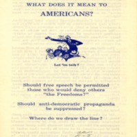 Free speech: what does it mean to Americans?