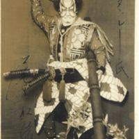 Kaizawa 1-066: Kabuki actor- Onoe, Shoroku II,  尾上, 松緑…