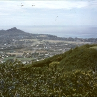 View of Diamond Head