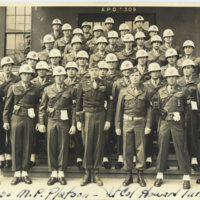 A group photo of IX corps MP Platoon with Lt. Col.…