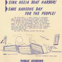 Save Kaneohe bay for the people!