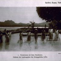 Sarfert, Kusae, Tafel 18; Fischerinnen mit ihren…