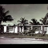 Dependent housing on Kwajalein Island.