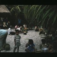Various Kili family groups eating at Benet's kemem.