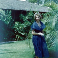 Betty Esmoille outside 252-A Beach Walk. Waikiki.…