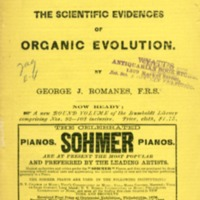 Scientific evidences of organic evolution