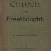 Church and freethought
