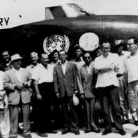 1959 UN Visiting Mission in Truk. Front row from left:…