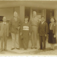 Emery Middleton with Capt James Miller, Mr. Shunichi…