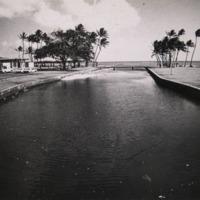 Canal at Kahala beach