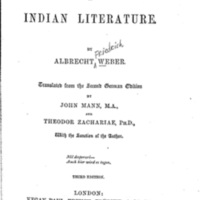 History of Indian Literature