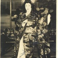 Kaizawa 1-032-1: Kabuki actor -Onoe, Baiko VII, 尾上, 梅幸…