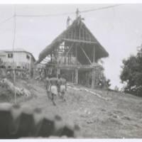 Bistanua - Papuan infantry HQ near Uberri. N.G. '43