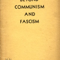 Beyond communism and fascism philosophical-sociological…