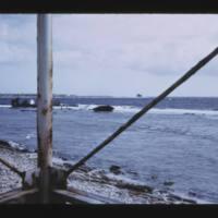 Deep water pass between Parry (Elmer) Island and Japtan…
