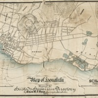 Map of Honolulu : prepared for Husted's Hawaiian…