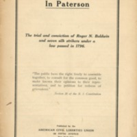 """Unlawful assembly"" in Paterson: the trial and…"
