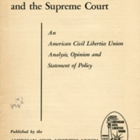 Smith Act and the Supreme Court: an American Civil…