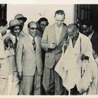 Sir Stafford Cripps & Gandhi