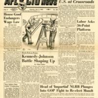 AFL-CIO news. (41 v., 1955-1996)