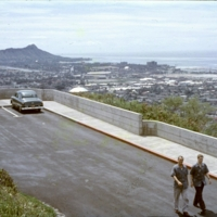 Lookout view of Diamond Head