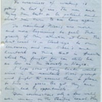 Letter from Masao Yamada to Dr. Lind