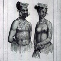 Larik chef des iles Romanzoff, Femme de Saltikoff