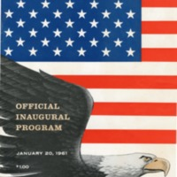 Official program. Inaugural ceremonies of John F.…