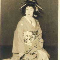 Kaizawa 1-068: Kabuki actor - Onoe, Baiko VII,  尾上, 梅幸…