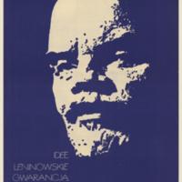 Idee leninowskie gwarancja światówego pokoju