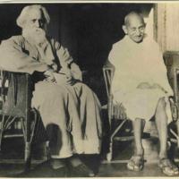 Rabindranath Tagore & Gandhi