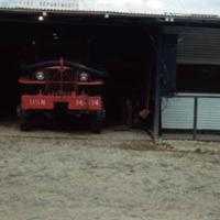 Koror fire station. [Palau]. 21 Dec. 1949