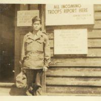 Kaizawa 2-030: Stanley Kaizawa in military uniform,…