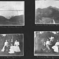 [031] Cane flume, Waialua falls, Miss Yarrows