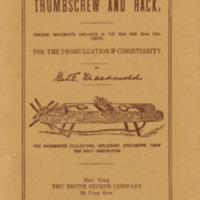 Thumbscrew and rack: torture implements employed in the…