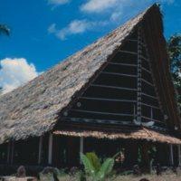 Yap Canoe House Exterior - 03