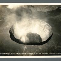 Halemaumau In Action, Kilauea Volcano, Hawaii