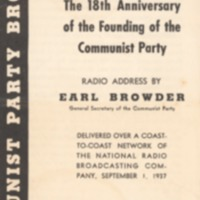 18th Anniversary of the Founding of the Communist Party