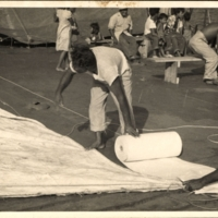 Ujilan Group Measuring Canvas for Sails Evacuation Trip…